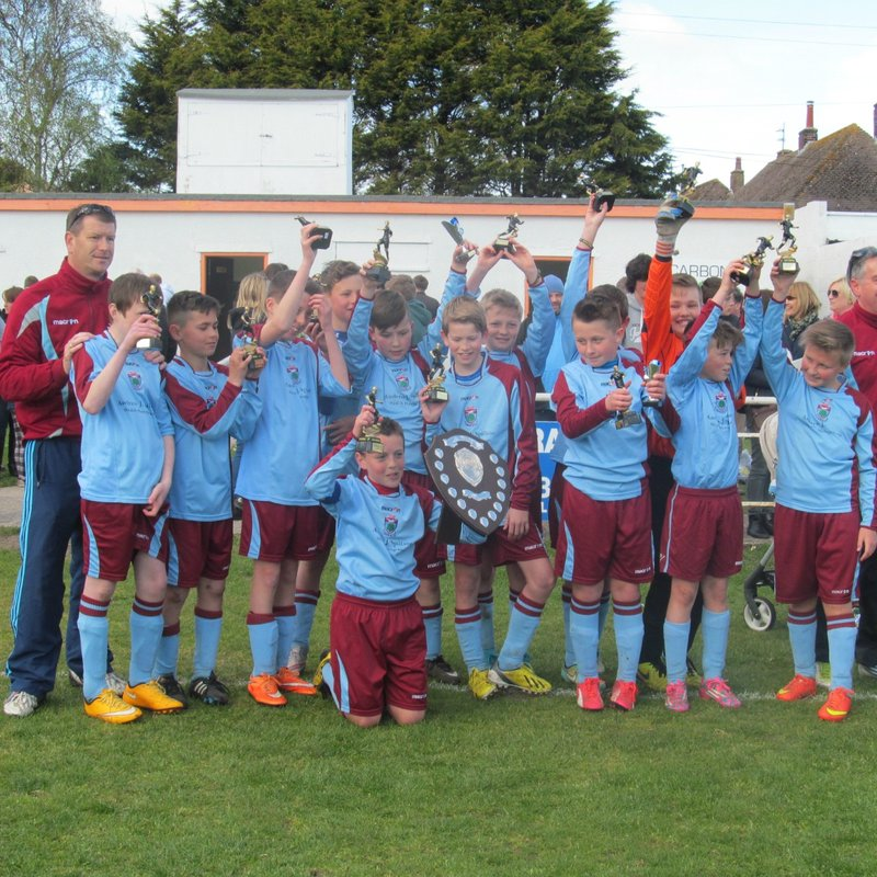 UNDER 12'S CROWNED LEAGUE CHAMPIONS & CUP RUNNERS UP
