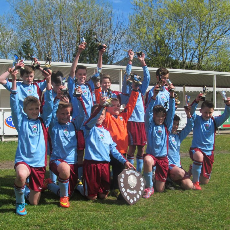 UNDER 12's SECURE LEAGUE TITLE.