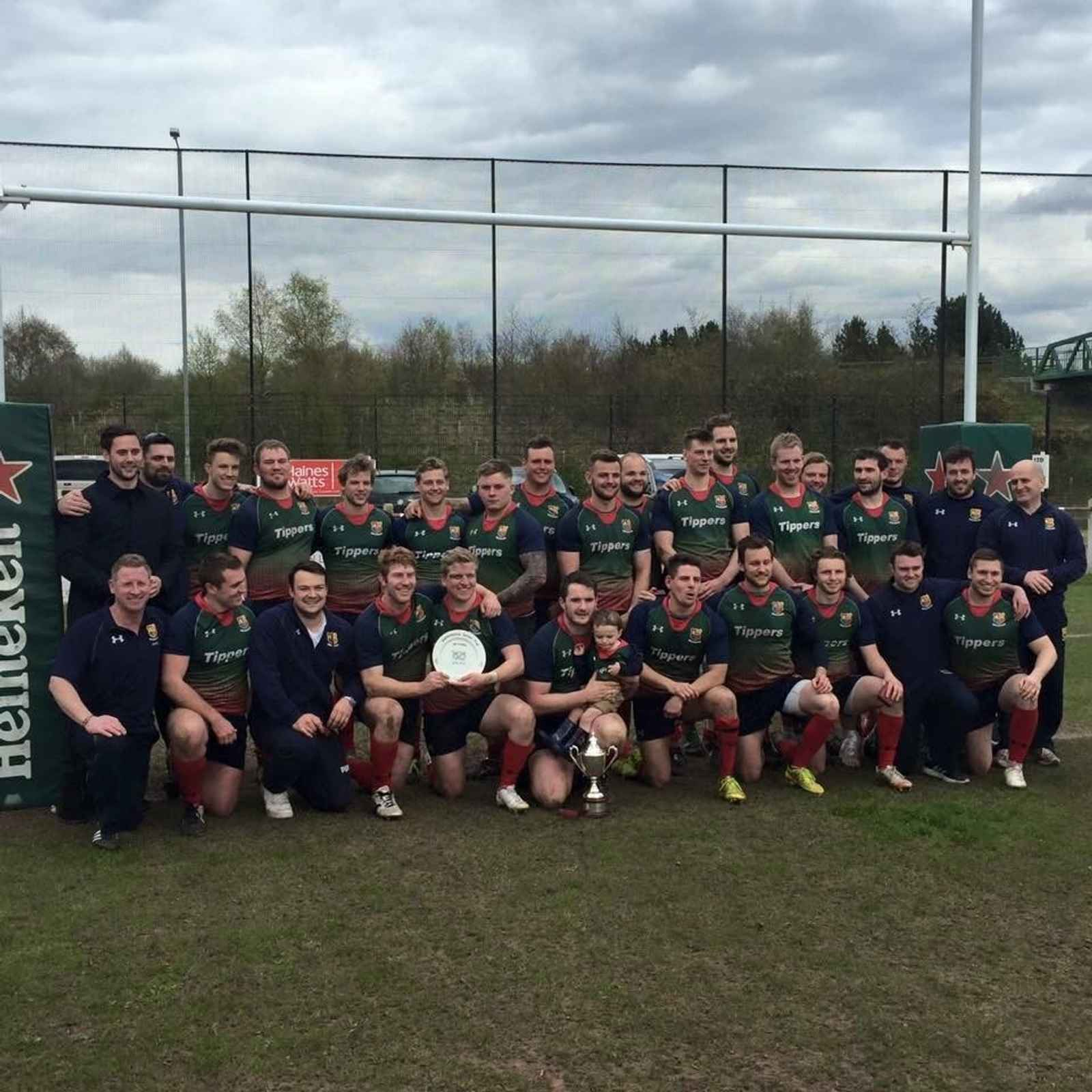 Staffordshire Cup Winners 2015/16