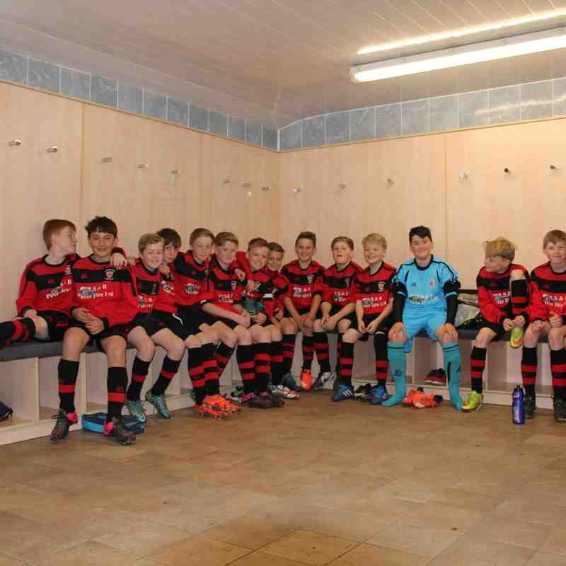 Ludlow Town U12 - HJFL League winners 2016