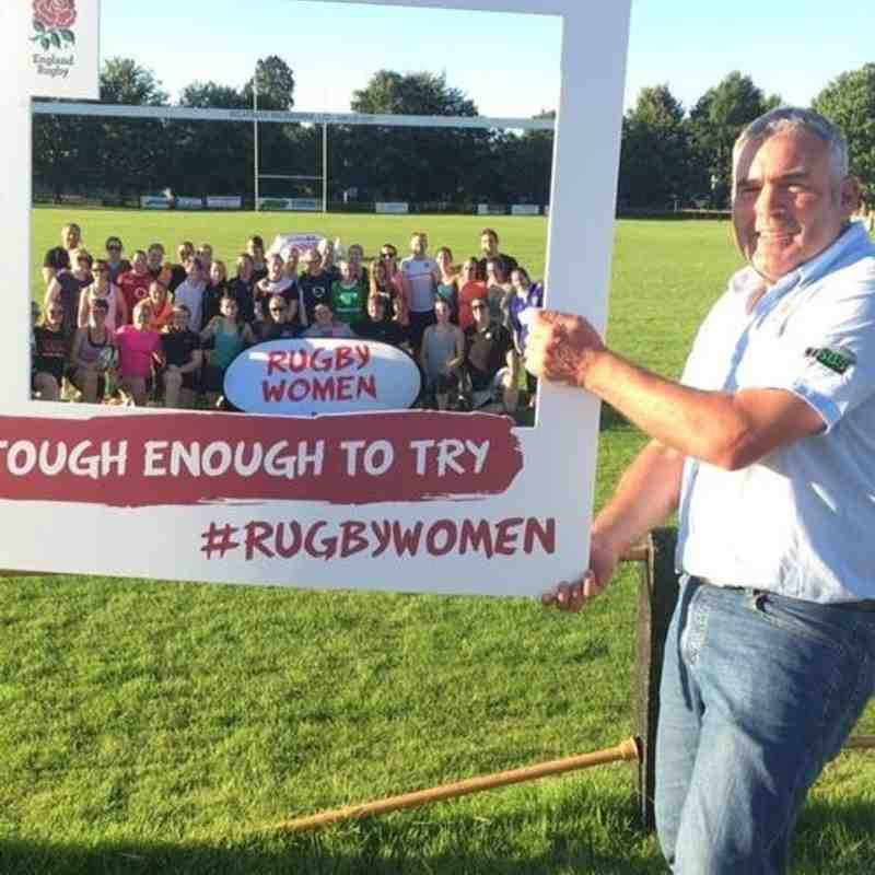 Ladies Pitch Up and Play Event 18/7/16