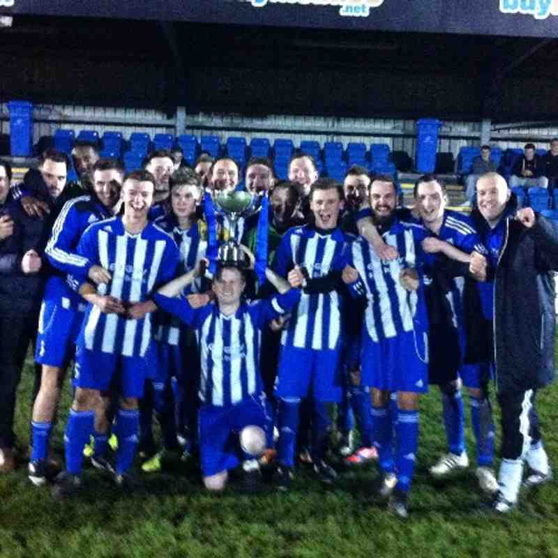 Reserves Cup Final vs Ashbourne Reserves - 10.04.2014