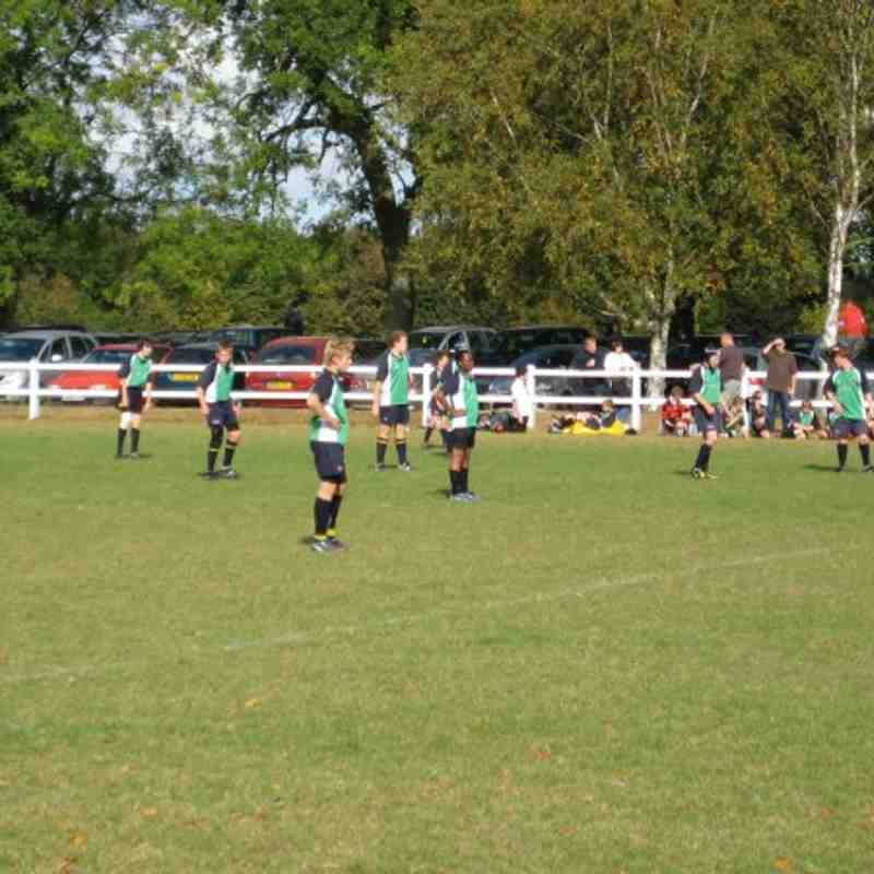 Abbey U13's v Marlow (04.10.09)