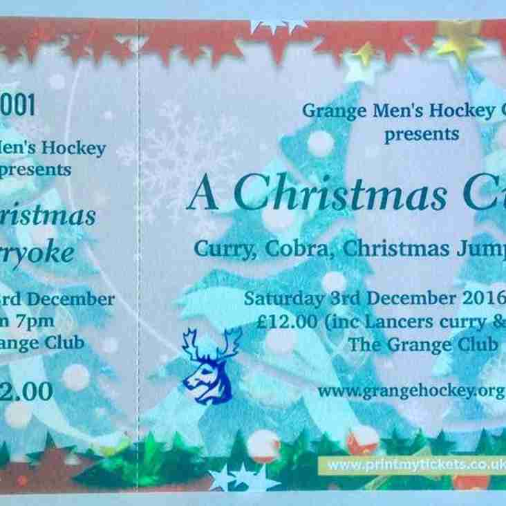 Chrsitmas Curryoke III, Saturday 3 December