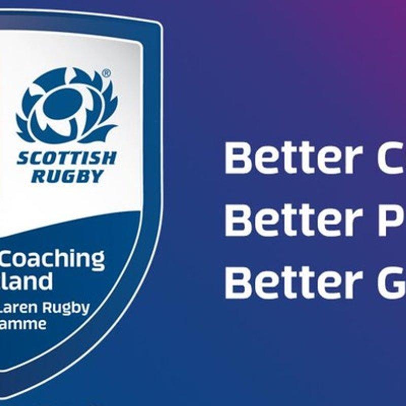 PCS Plus - Developing Mastery Coaching Workshop (Perthshire RFC) Wed 31 Jan 18