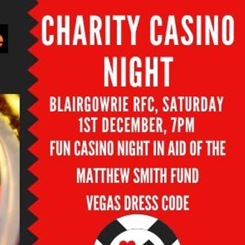 Charity Casino Night - Sat 01 Dec 18