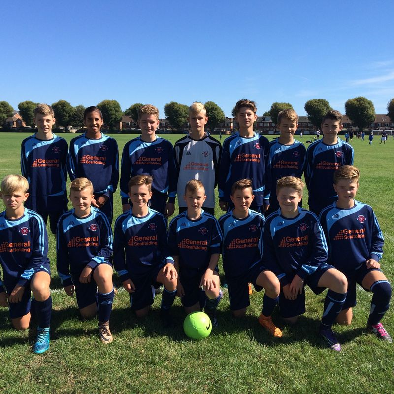 Under 14 Pumas lose to Pickwick Youth Tigers 3 - 1