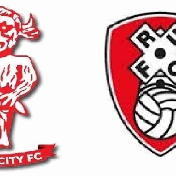 Academy v Rotherham United - 24th September