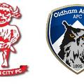 YANE: Youths v Oldham Athletic - 10th December - 12 noon