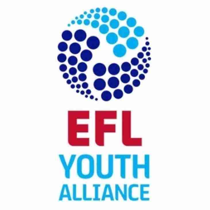 English Football League Youth Alliance Weekend Preview