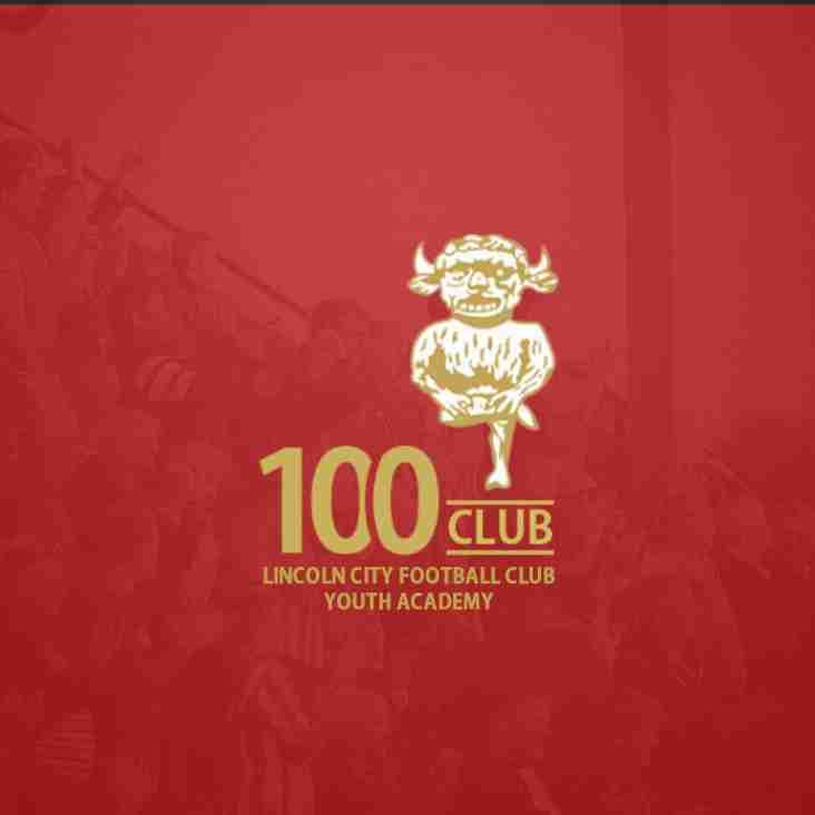 Youth Academy 100 Club Prize Winners