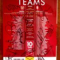 Arsenal v Lincoln City Squad-Signed FA Cup Match Programme