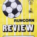 Runcorn v Lincoln City - 1987/88 - Rare Match Programme