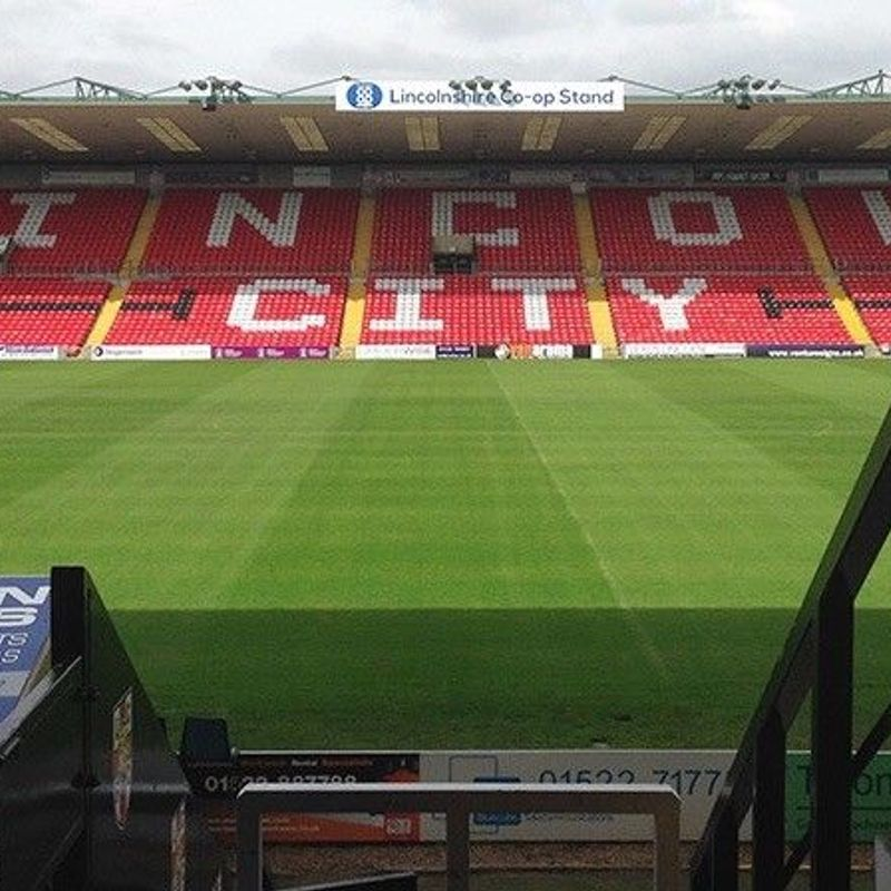 Lincoln City v Chesterfield - 2 x VIP Match Tickets