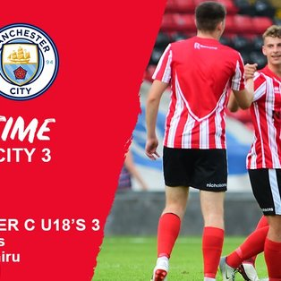 FT: Lincoln City 3 - 3 Manchester City