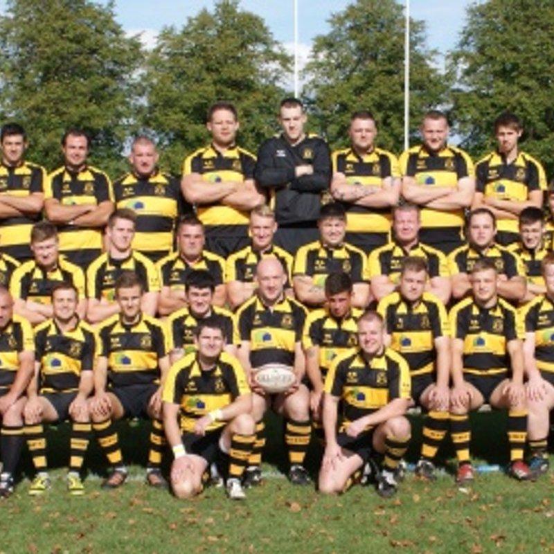 1st team lose to Cheltenham Saracens 7 - 24