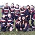 Tamworth U13 girls score more tries than ever before!!