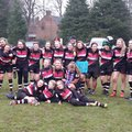 Tamworth played an inter club game with the 4 Chesterfield girls on the day