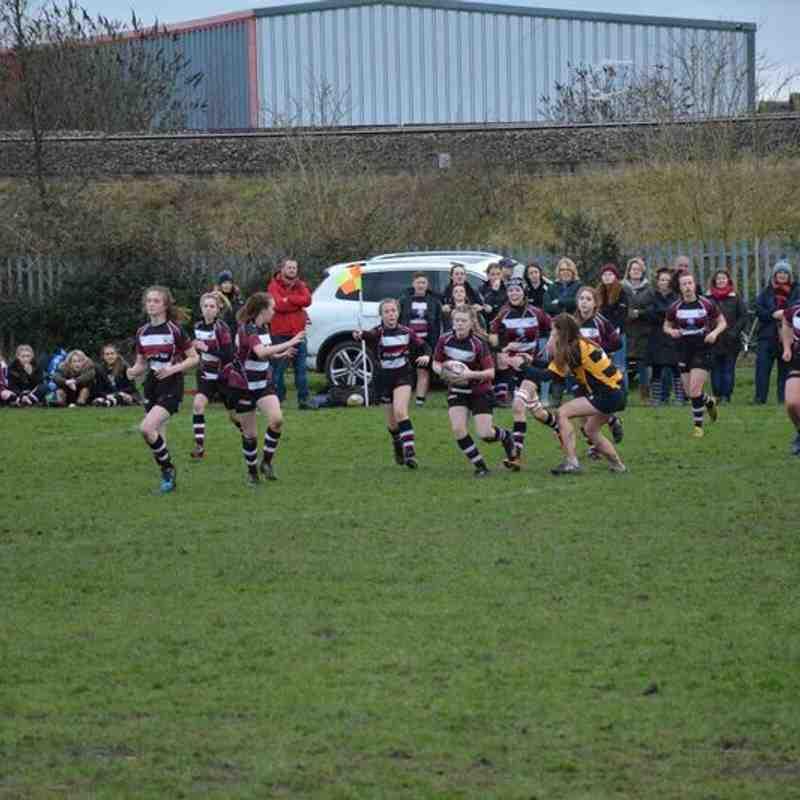 Tamworth Girls U15's vs Telford & Shrewsbury
