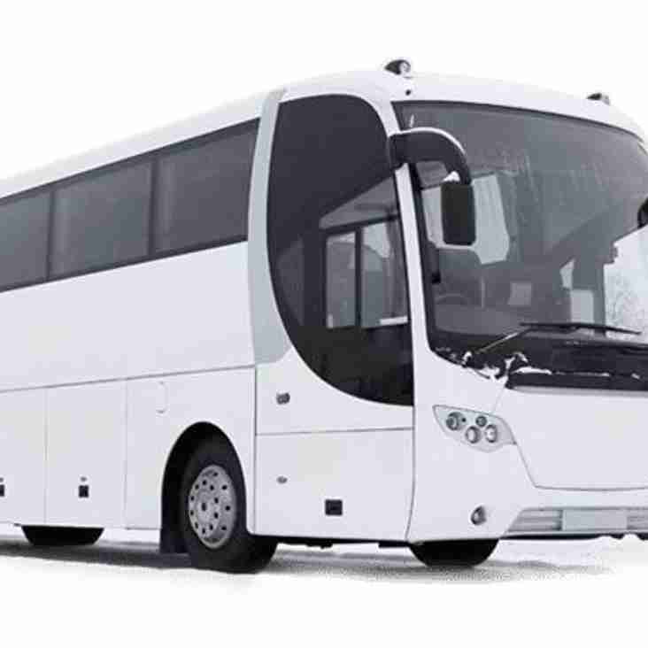 Coach Travel for Ware F.C v Horhsam FA Trophy game - Saturday 13th October 2018
