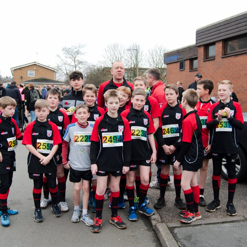 Stags Join the Fun Run