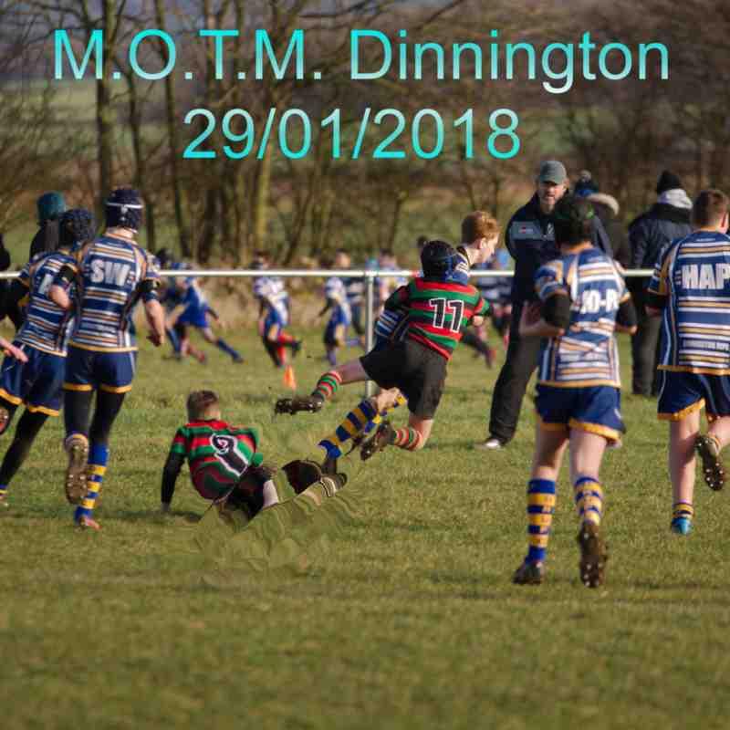 Dinnington vs Stags 28/01/18