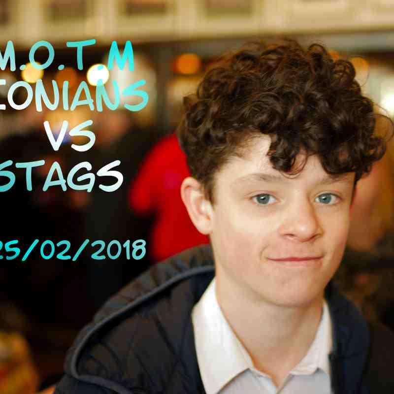 Ionians v stags 25.feb.2018