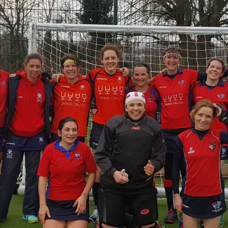 Ladies 2nd XI beat BBHC 9 - 0