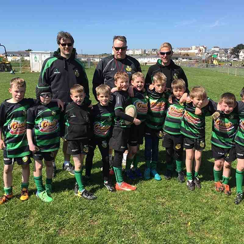 Withcombe U9 2016 Tour to Bude