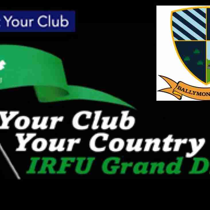 Your Club Your Country 2017 - Entries Now Closed