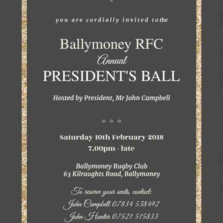 Annual President's Ball