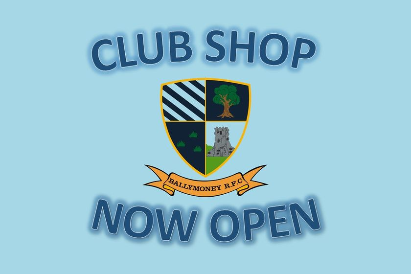 Club Shop Now Open
