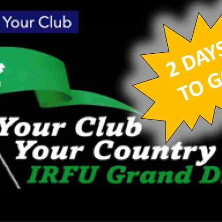 2 DAYS TO GO - Your Club Your Country 2018