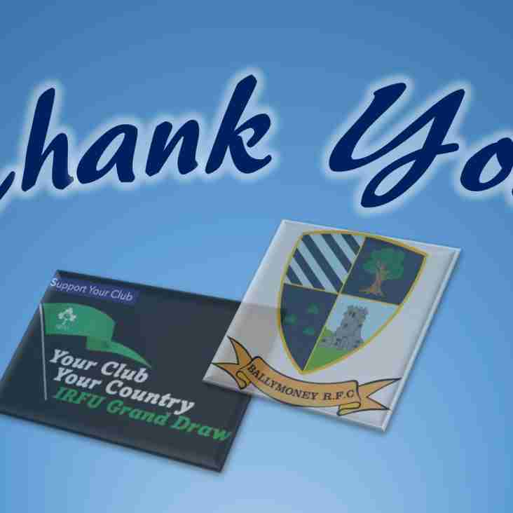 Your Club Your Country 2018 - Entries Now Closed