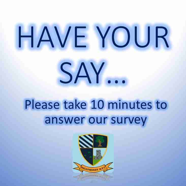 Have Your Say...