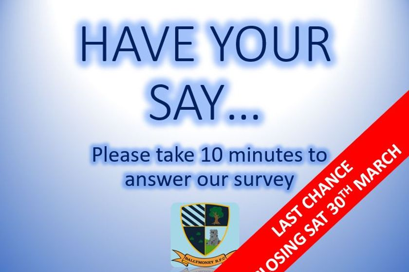 Club Survey - Closing Soon