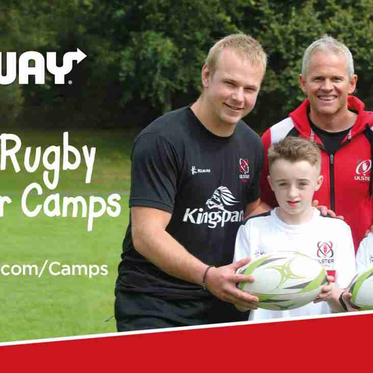 Ulster Rugby Summer Camp Comes to the Club Again