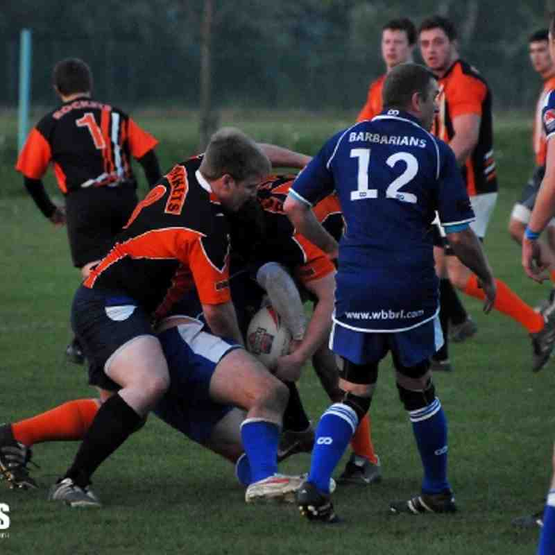 Whitley Bay Barbarians Home 23/05/12