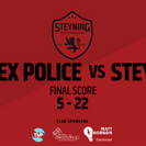 Steyning too strong for tough Police side.