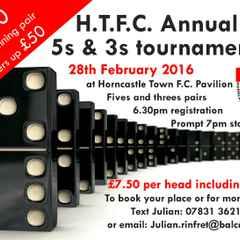 H.T.F.C. Annual 5s & 3s Tournament