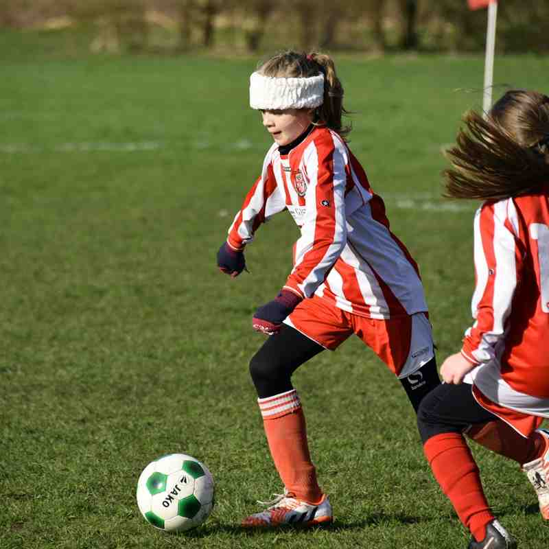 Under 11 Girls v Grimsby - 14th February 2016