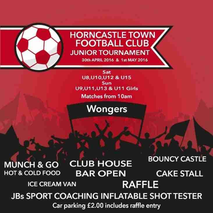 Horncastle Town FC 2016 Junior Tournament