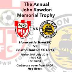 The Annual John Rawdon Trophy