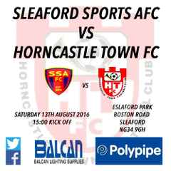 Sleaford Sports AFC vs Horncastle Town FC