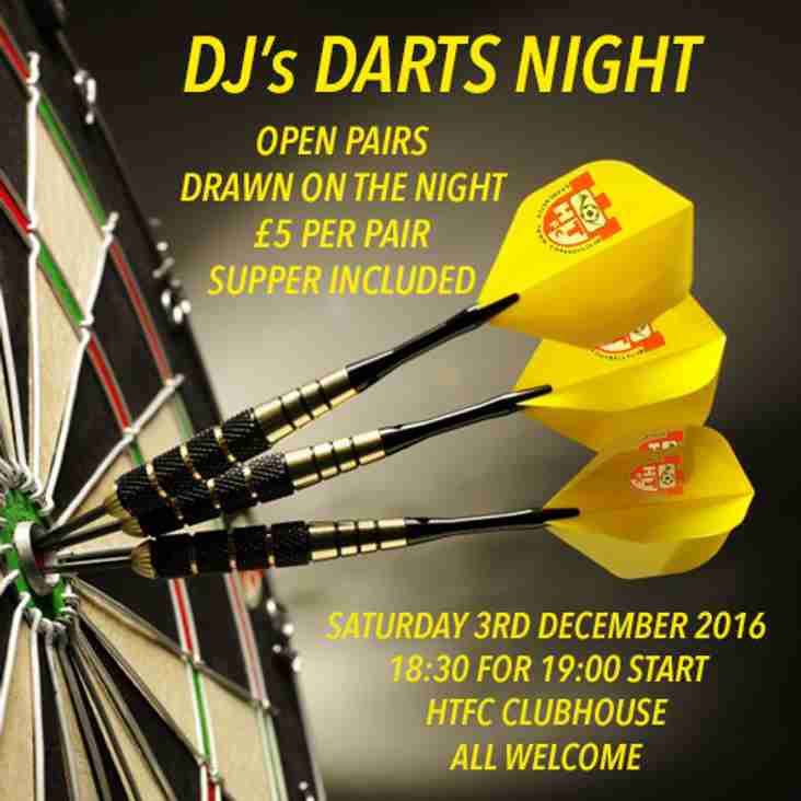 DJ's DARTS NIGHT