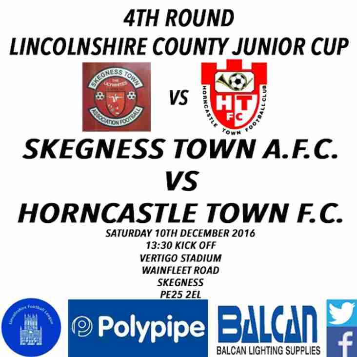LINCOLNSHIRE COUNTY JUNIOR CUP 4TH ROUND