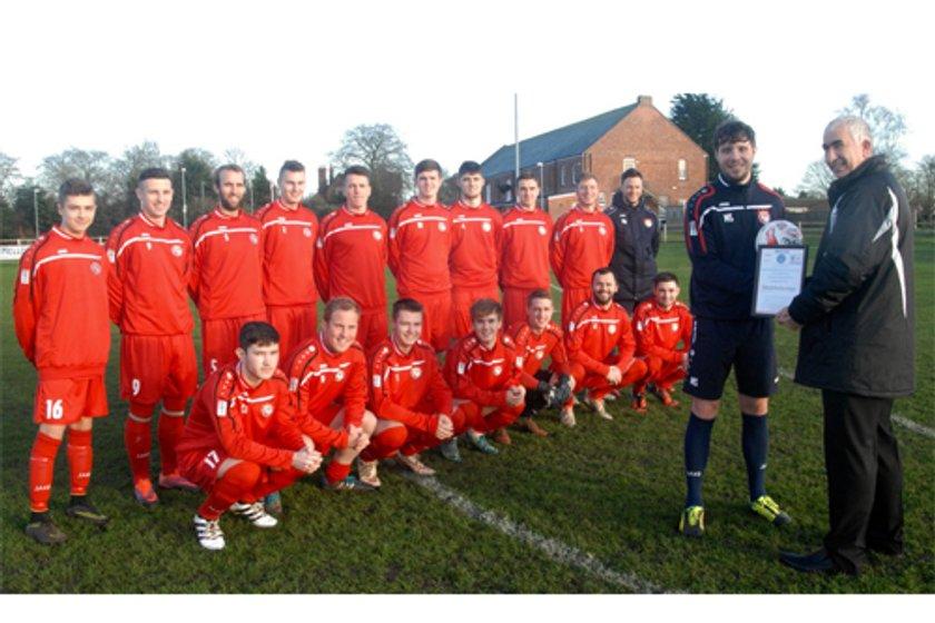 1st Team beat Grimsby Borough Academy 2 - 0