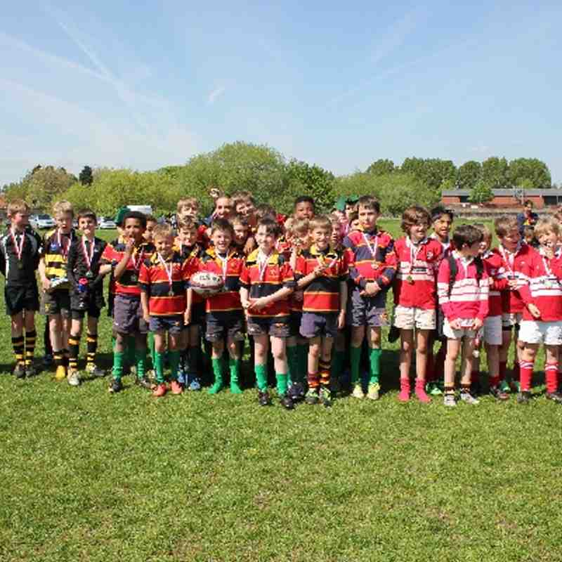 U10's Moderns, Keyworth & Touring Northampton Side 3rd May 2014