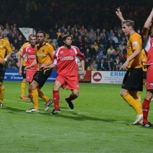 Cambridge Utd 3 Nuneaton Town 0