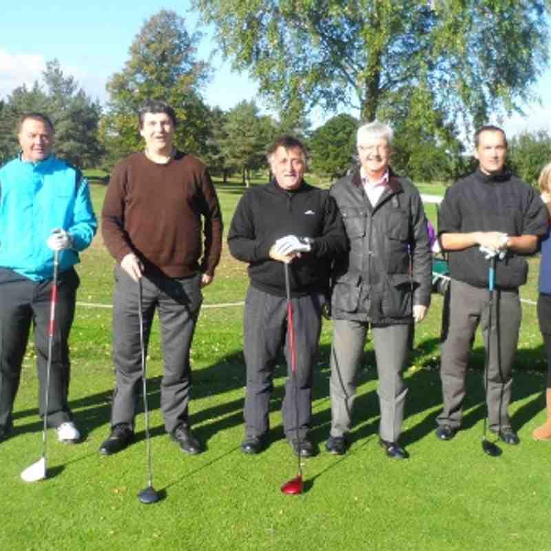 Nuneaton Town FC Golf Day 10/10/13